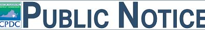 Public Notice 2021 CEDS Report Review